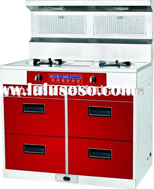 Multi-functional integrated electric kitchen appliance