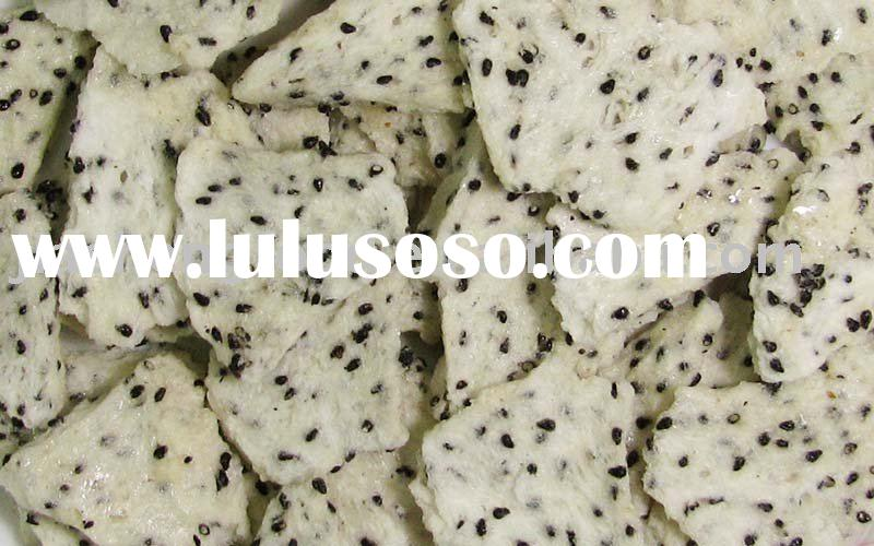 Natural Freeze Dried Fruits - Dragon fruit Slices (FD Dragon fruit)