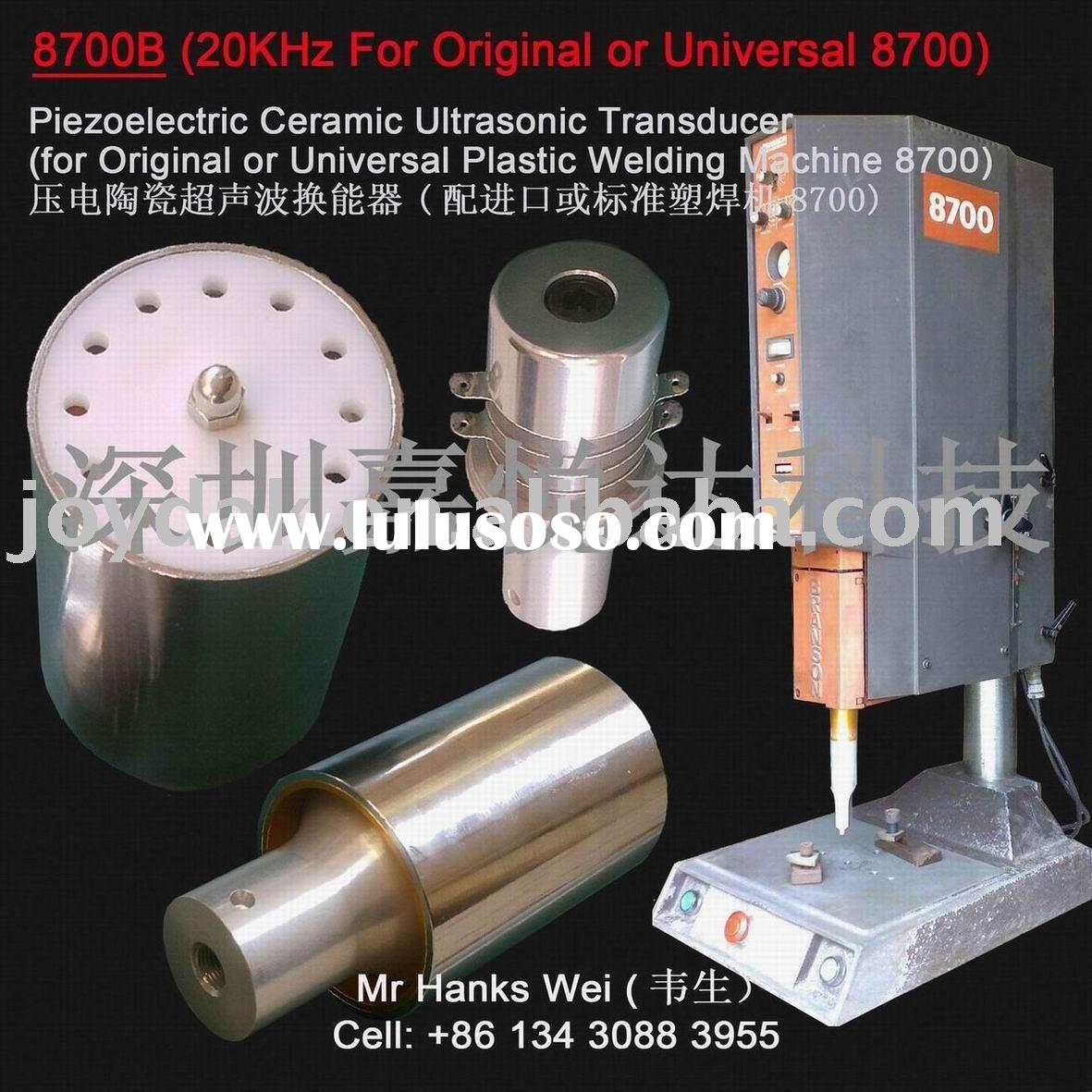 Ultrasonic welding converter 20KHz for Universal Plastic welding 8700