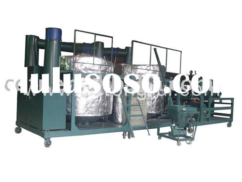 Used lubricant oil recycling and oil recovery system