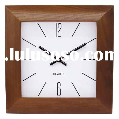 antique wooden wall clock