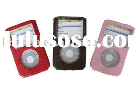 for ipod video leather case