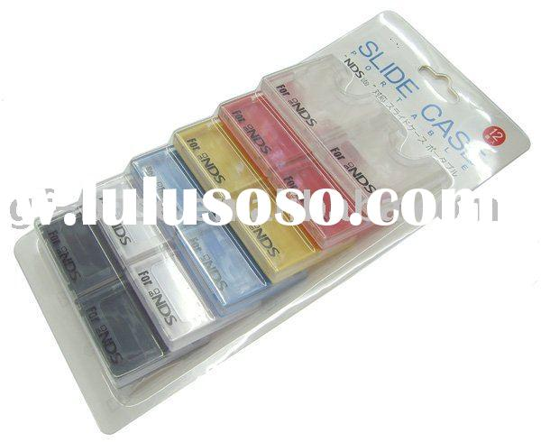 game case for NDSL(12 in 1),for Ds List game case,cartridge case for NDSL
