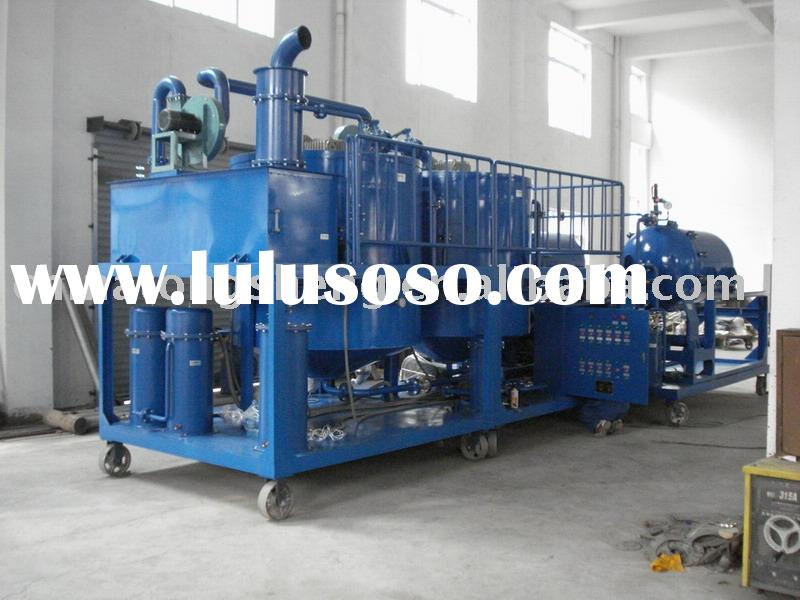 industrial oil recycle plant-ZYD-A1 for engine oil and lubricants oil