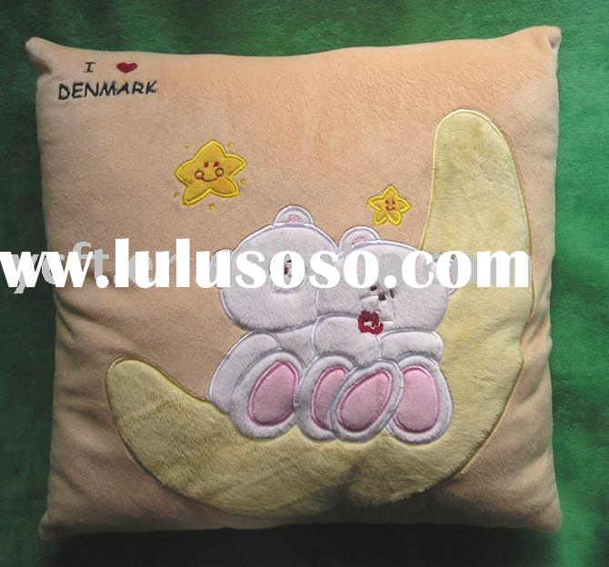 plush and stuffed Valentine pillow