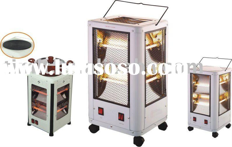 portable electric halogen heater