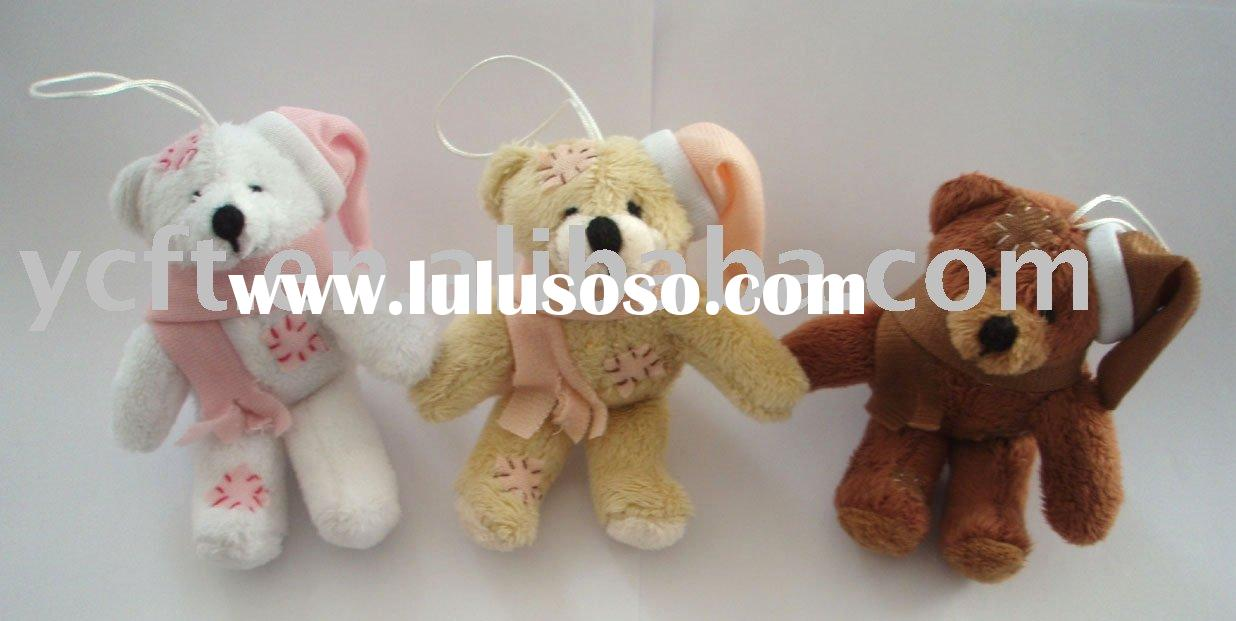 08020- Teddy Bear,stuffed bear,keyring,bear toy,plush toy(CE/ASTM)