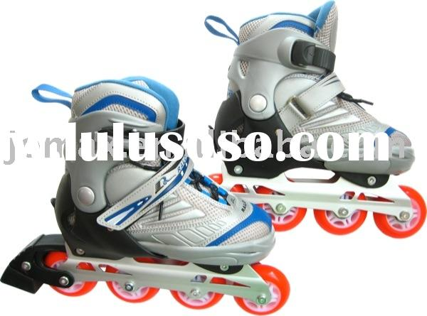 Adult's Sizes Adjustable In-Line Skating Speed Roller Blade Skates Shoes