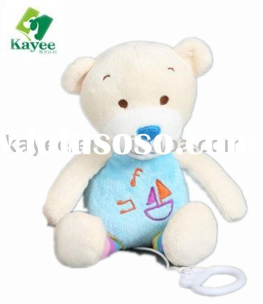 BABY STUFFED PLUSH TOYS MUSIC TOYS TEDDY BEAR
