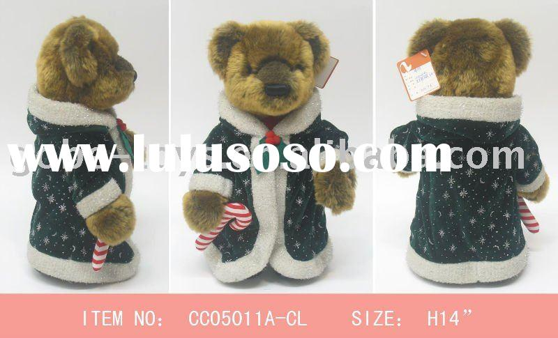 Christmas plush bear
