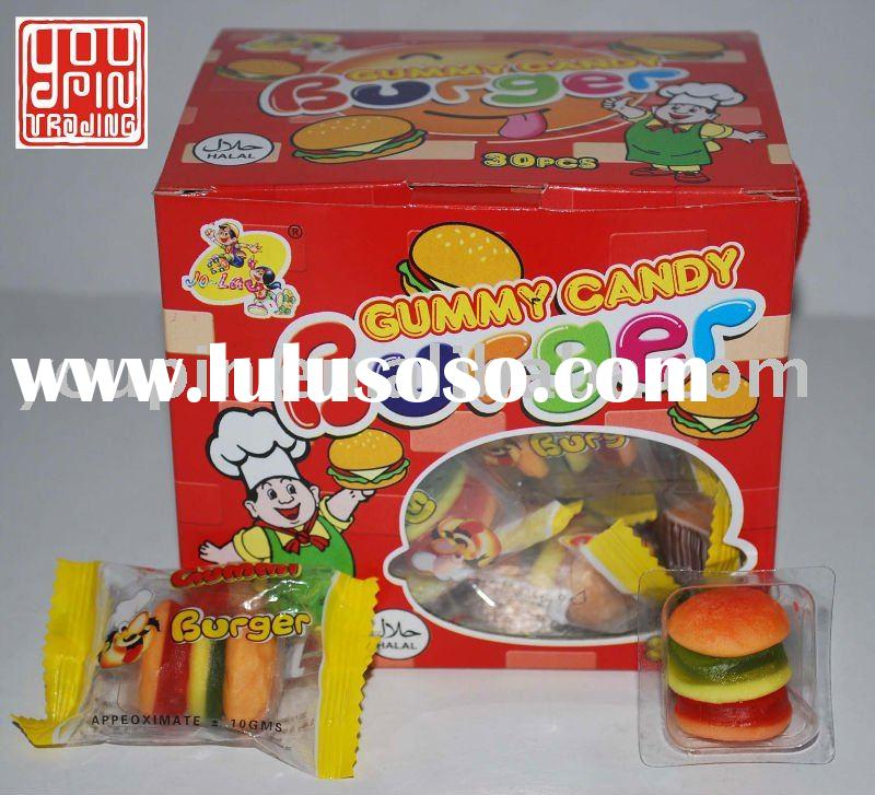 Gummy Burger Candy/Sweets