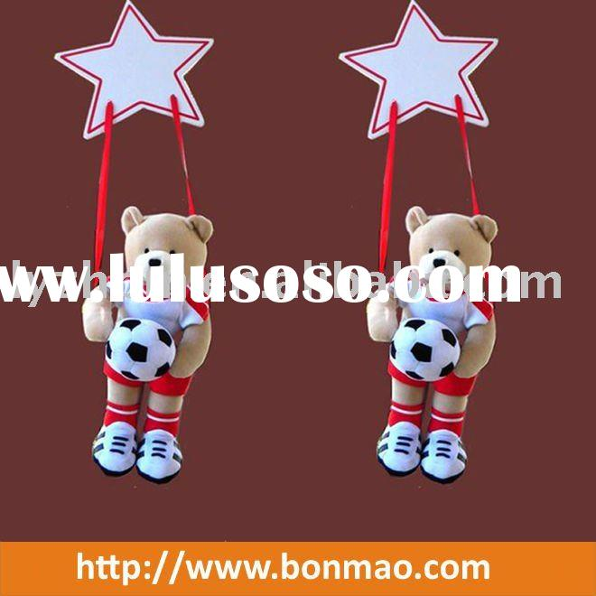 Hanging Football Bear
