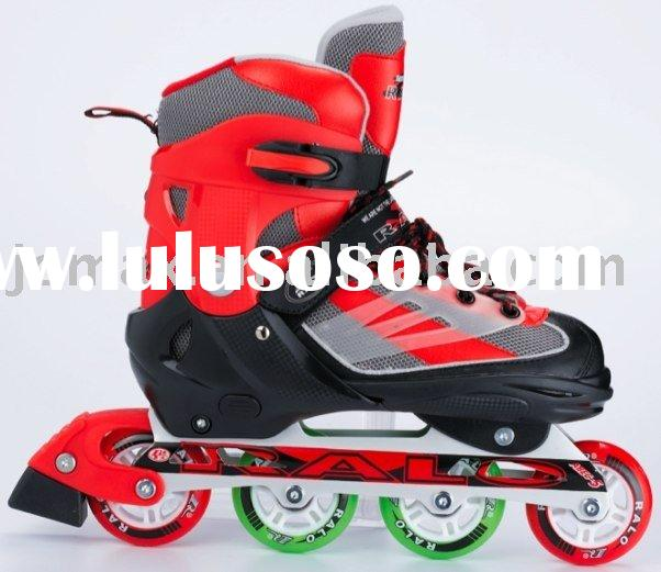 High Quality Professional Sizes Adjustable Roller Blade Inline Skate Shoes
