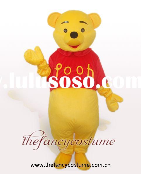 Mascot Costume winnie the pooh bear cartoon dress new adult size