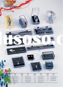 Plastic Lucite Box & Plastic jewelry box