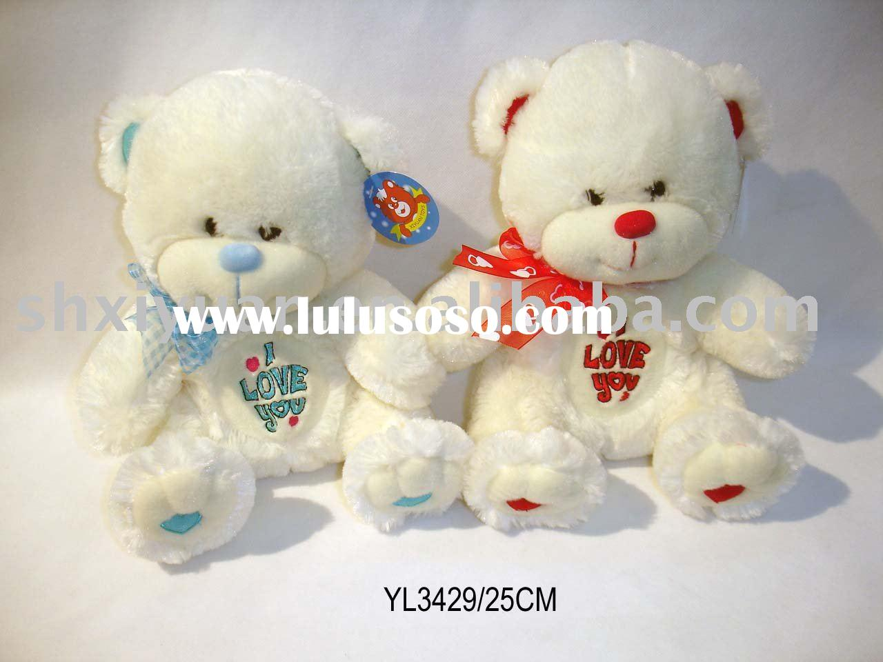 Plush valentine teddy bear (YL3429-3433)