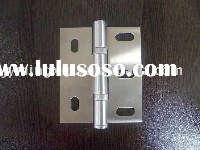 Stainless steel 5 square holes ball bearing cabinet hinge