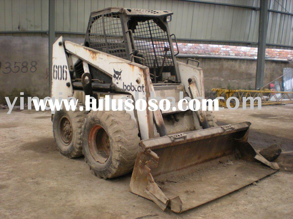 Used bobcat 606 mini skid loader, secondhand wheel loader for sale