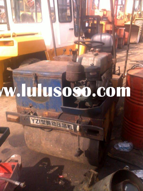 Used mini 4 ton  road roller / construction equipment