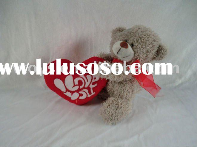 Valentines teddy bear Plush animal stuffed begger bear soft toy