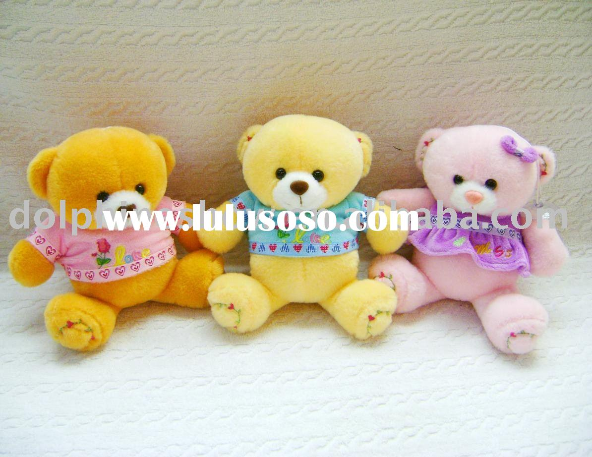 stuffed plush toy ( teddy bear with t-shirt)