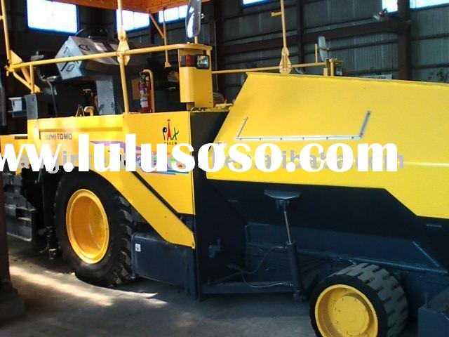 used ASPHALT FINISHER