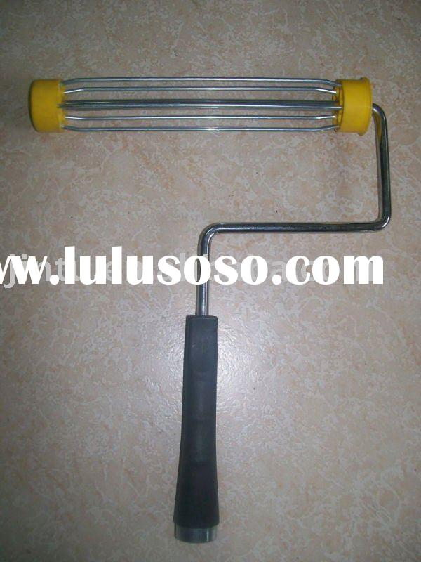 9 inch paint roller frame, cage system, chrome plated 5 wires