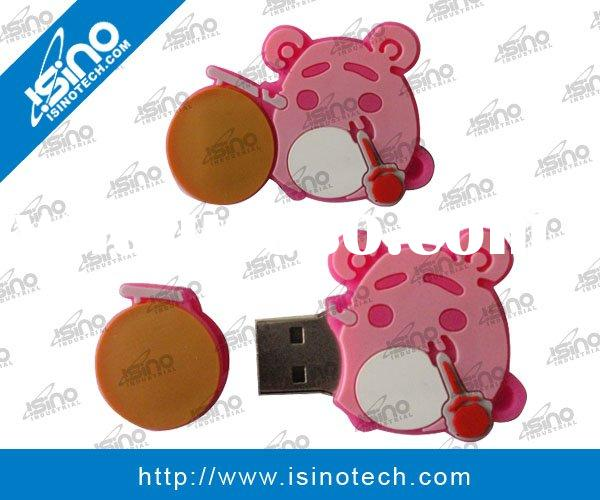 Cartoon USB Flash Memory Stick, Custom Made in Special Shape, OEM Accepted