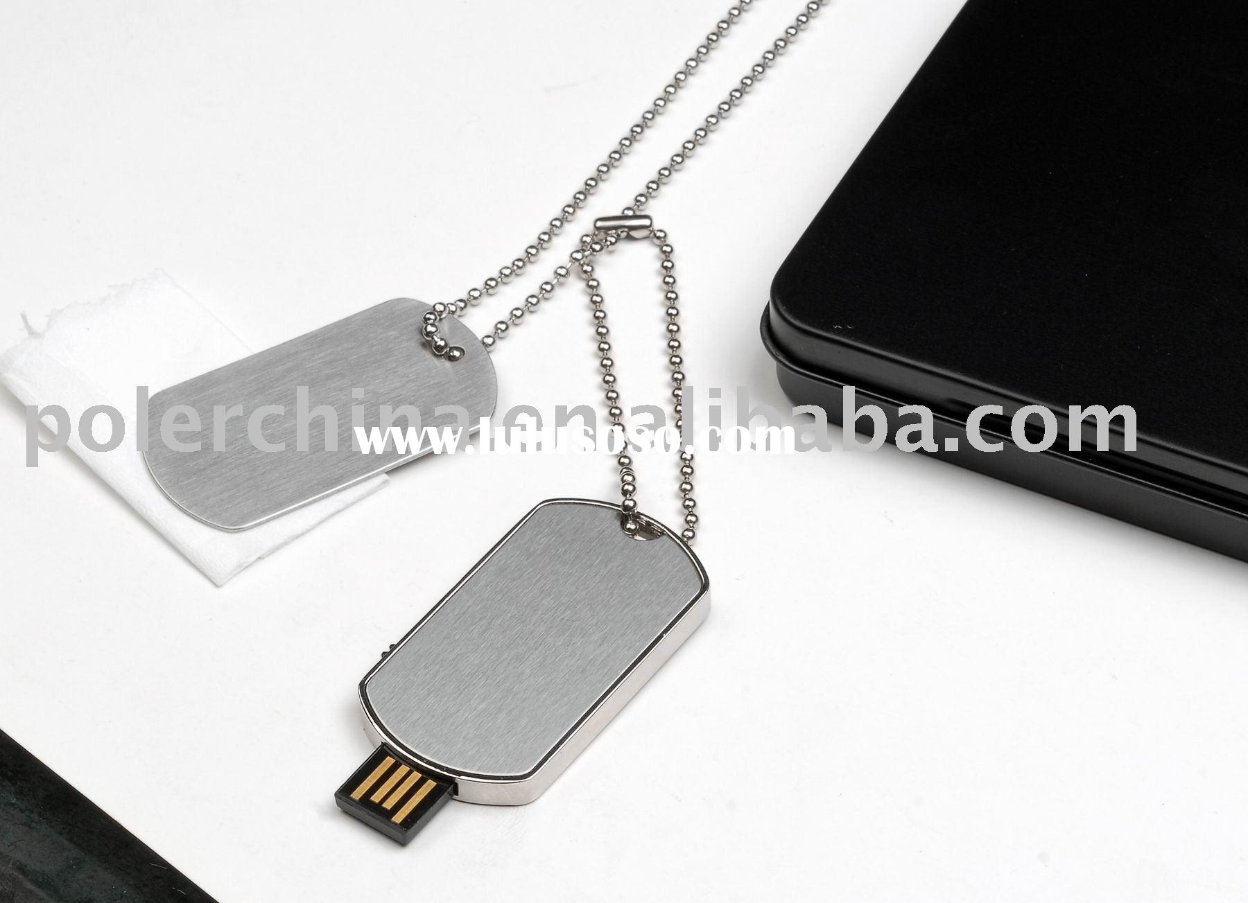 Dog Tag USB Flash Drive