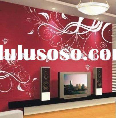 Home decoration wall decals of pvc wall sticker