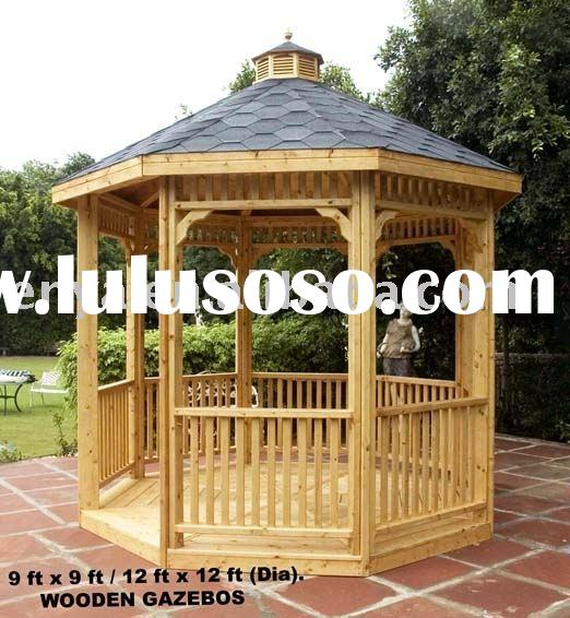 Landscape/Landscaping Pavilion, Wooden Outdoor Gazebo, Garden Furniture/decoration