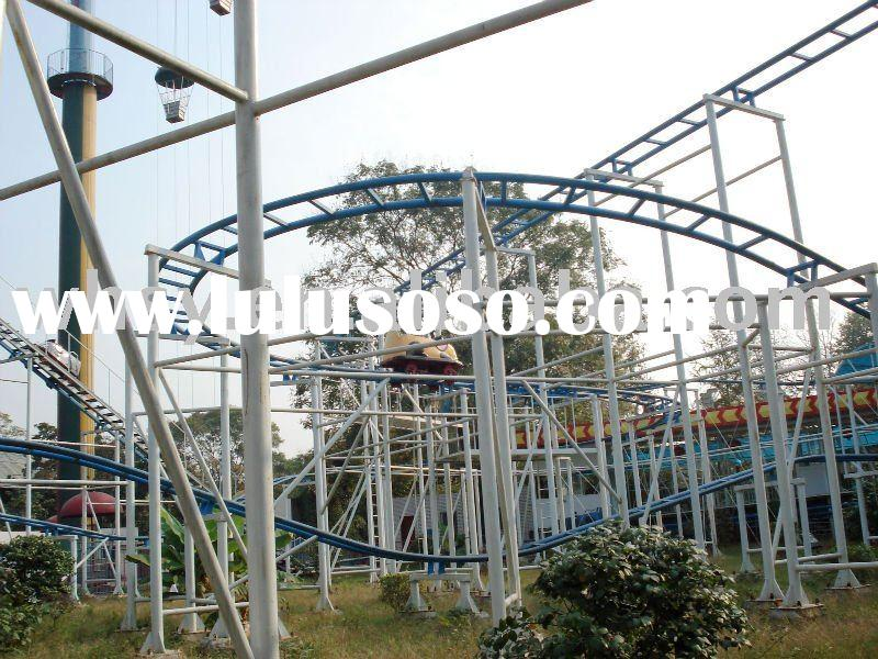 amusement equipment mad mouse roller coaster
