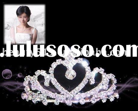 2010 hot sale fashion Tiara crown HG016, wedding accessories, wholesale price