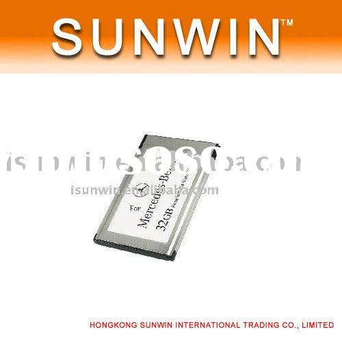 32GB 16GB SSD MP3 Player PCMCIA Card Multimedia For Mercedes-Benz