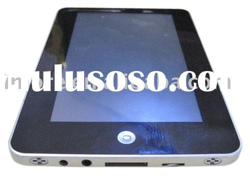7 inch  touch screen Tablet PC with Android OS VIA 8505+ 400MHz CPU and 0.3 MP camera and support 3G