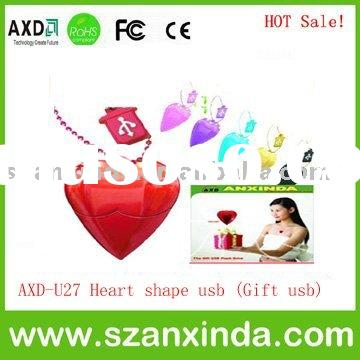 HOT Sale Heart USB memory stick