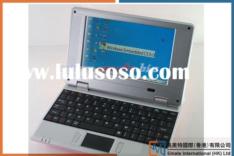 High Quality Netbook 7 Inch Laptop Windows CE OS ARM 300MHZ CPU