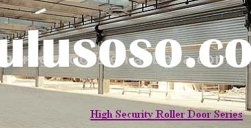 High security roller door --- Insualted or Non-insulated