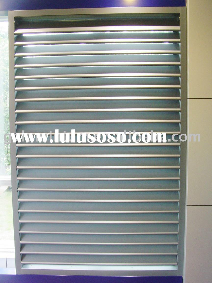 OUTDOOR USE aluminium louver aluminium shutter and aluminium blind