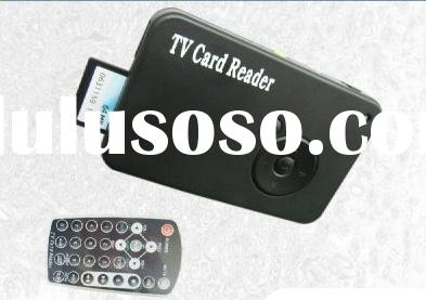 USB TV Memory Card Reader For Digital Photo Viewer/MP4/MP3/WMA