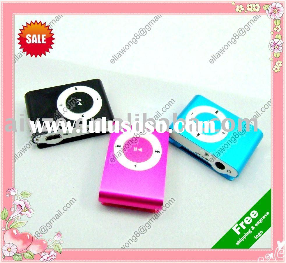 cheapest clip mp3 music player (memory flash mp3 & Micro SD TF card mp3) accpet paypal