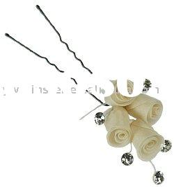 flower hair accessories/flower hair pin/bridal accessories