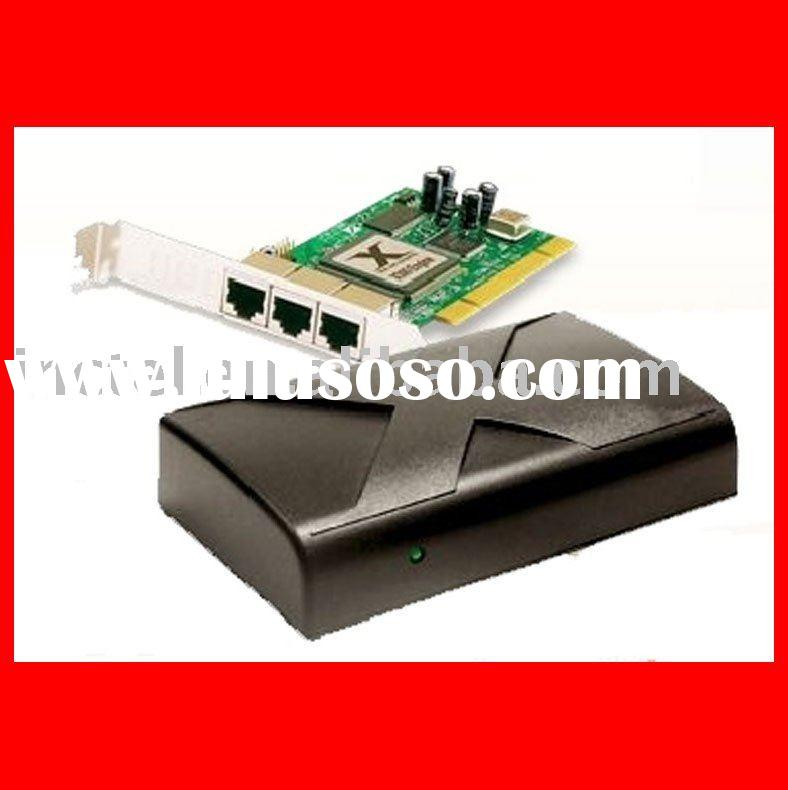 microsoft thin client IN-X300 with 3 terminals and 1 pci card