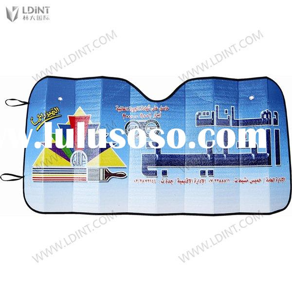PE Foam Car Sun Shade / Auto Sunshade/ sun shade with 4C Photo gravure Printing---Discount!!