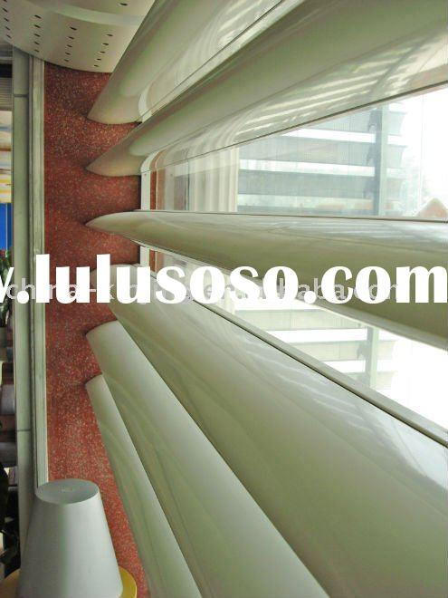 Aluminum Window Shutter Electric And Manual Roll Up