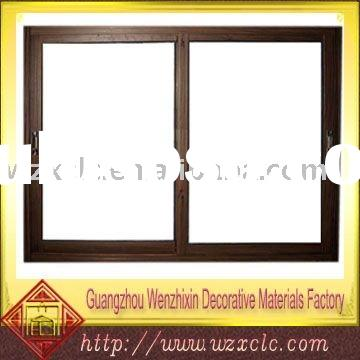 interior-open sliding window