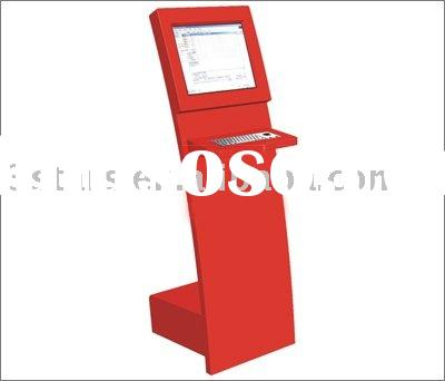 touch kiosk ticket printer