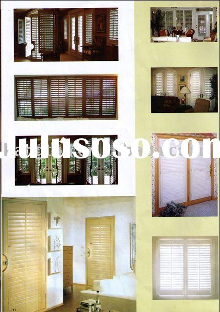 wood shutter/louver door