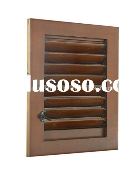 wooden  flexible  shutter