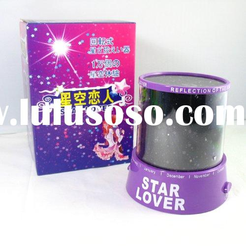 Romantic gift star mini  projector